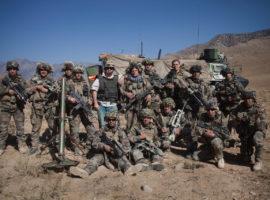 Avec mes amis légionnaires en Afghanistan